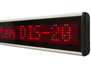 LED-Displays, numerische, alphanumerische Displays